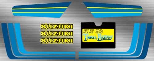 83/' 84/' suzuki Trail Buddy ALT50 8pc Decals graphics sticker Set  Vintage