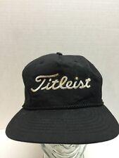 Vtg 90s Titleist Golfing Hat Cap Strapback