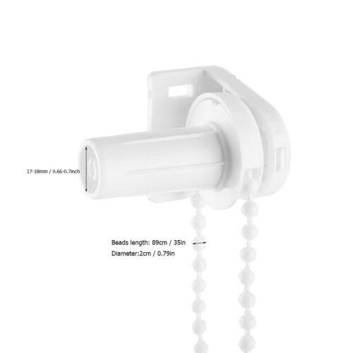 Repair Fitting For Spare Parts White 17mm Roller Blind Metal Brackets ONLY