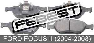Pad-Kit-Disc-Brake-Front-For-Ford-Focus-Ii-2004-2008