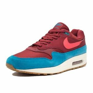 the best attitude b38f8 63635 Nike Air Max 1 Team Red/Red Orbit-Green Abyss (AH8145 601) | eBay