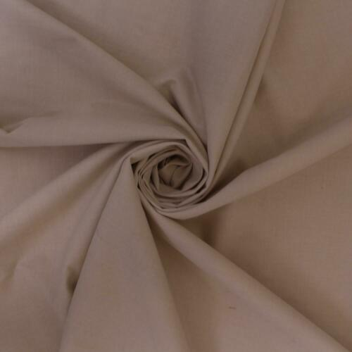 Desierto Cream Slubbed Linen Look Plain Upholstery Fabric