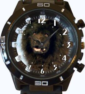 Negro-chowchow-perro-NUEVO-SERIE-GT-deportivo-unisex-regalo-reloj-de-pulsera