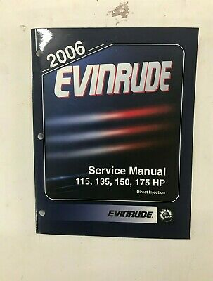 2006 EVINRUDE SD DI  OUTBOARD SERVICE MANUAL 115 135 150 175HP  DIRECT INJECTION