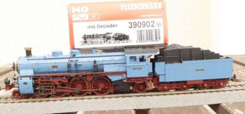 Fleischmann 390902 H0 Ac Loco Pour Train Express S 3/6 Vernis Sédiments Br 18 Drg