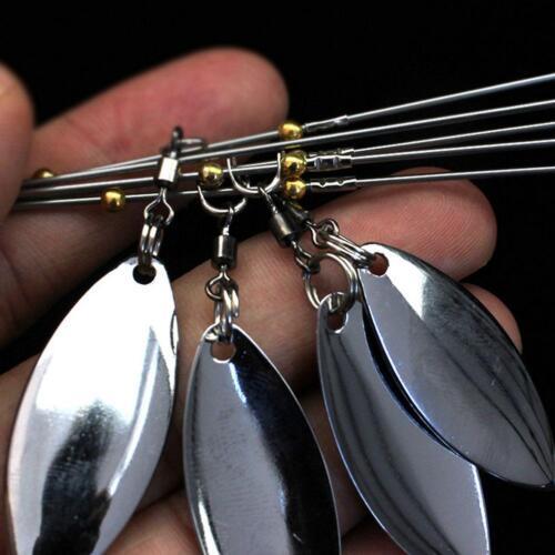 Alabama Regenschirm Rig Angeln Bass Lockt Köder Kit Zufällig 5 Arm 4 Klingen