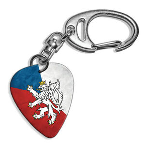 Czech Republic Lion Flag Logo Guitar Pick Keyring GD2 - Gateshead, United Kingdom - You can return your item for any reason if you are not happy Most purchases from business sellers are protected by the Consumer Contract Regulations 2013 which give you the right to cancel the purchase within 14 days after the  - Gateshead, United Kingdom