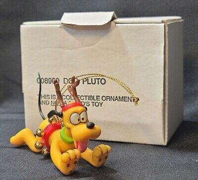 Details about  /Disney Grolier Pluto Christmas Ornament