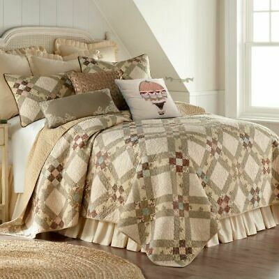 DONNA SHARP ~ SPICE POSTAGE STAMP FARMHOUSE COUNTRY PRIMITIVE QUILT