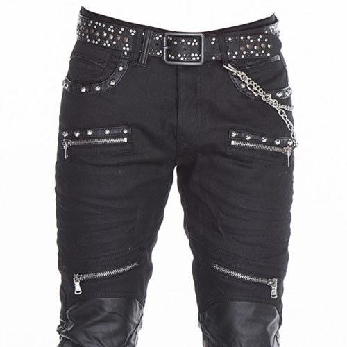 Cipo & Baxx Rock Hard Jeans Uomo Denim cd-342 Slim Fit Tutte Tg. NUOVO