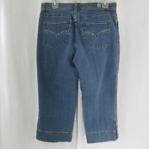 Fresh-Produce-Denim-Blue-Jeans-Cropped-Capris-Stretch-8