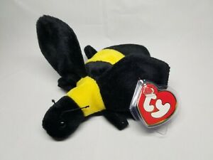 Authentic Ty Beanie Baby Bumble the Bee Rare 3rd 1st Gen Tag MWNMT ... 985d2a43cc5