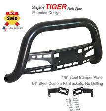 Super Tiger Bull Bar Fits 02 05 Dodge Ram 1500 Black Powdercoated Bumper Guard Fits 2005 Dodge Ram 1500