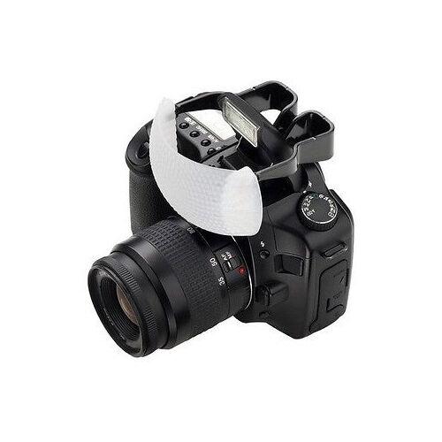White Pop-Up Flash Diffuser Dome Lambency For Canon Nikon Yongnuo DSLR Speedlite