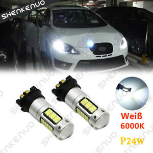 PW24W-PWY24W-LED-Canbus-DRL-Tagfahrlicht-Lampen-Weiss-fuer-VW-Golf-7-VII-Audi-A3