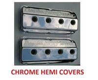 331 354 392 Hemi Valve Covers Chrome Firepower In Box February Special