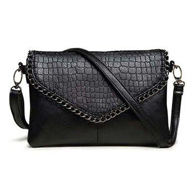 Women Leather Handbag Shoulder Bag Messenger Date Tote Small Party Evening