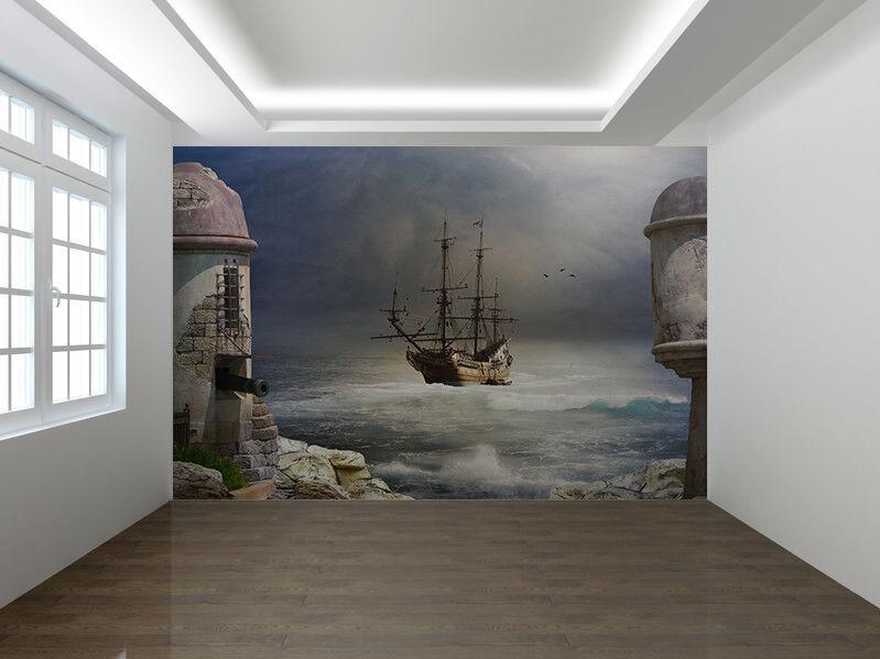 Pirate or merchant ship photo Wallpaper wall mural (21582011)