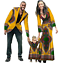 thumbnail 4 - New Fashion Matching Clothes Brand Father Mother and Son Baby Africa V11592