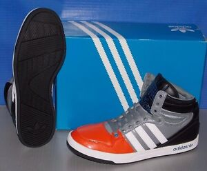 MENS ADIDAS COURT ATTITUDE in colors ORANGE / RUNNING WHITE / BLACK SIZE 11.5