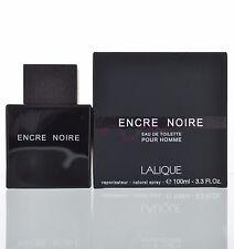 Lalique Encre Noir Eau De Toilette EDT 3.3 oz 100 ml For Men Spray NEW SEALED
