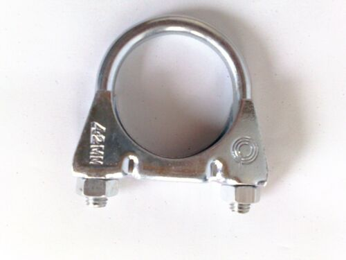 20 Stück Auspuffschelle Bügelschelle Rohrschelle Auspuff Rohr M8x42 mm  S25242a