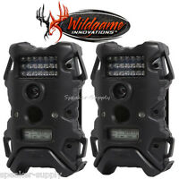 2 Pack Set Wildgame Innnovations Terra 5 Infrared Digital Trail Game Camera 5mp