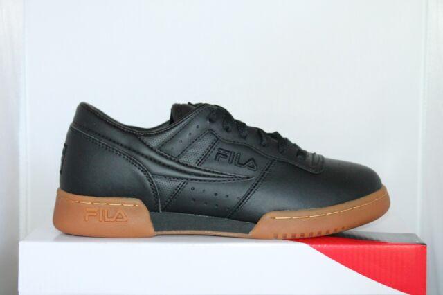 promo code 4e6a5 32a9c Mens FILA Original Fitness Classic Retro Casual Athletic Shoes White ...