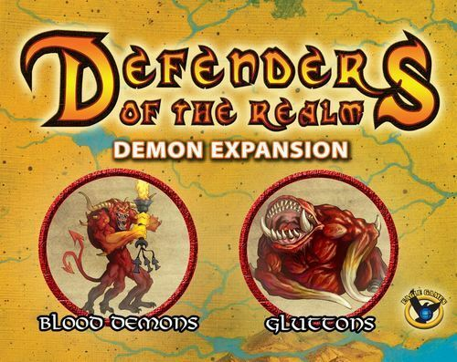 Defenders of the Realm Realm Realm  Demon Minion Expansion (painted) 61c