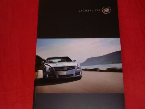 Cadillac ATS prospetto di 2012