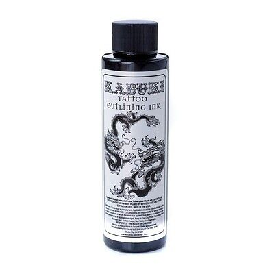KABUKI OUTLINING BLACK by Skin Candy 4-oz Bottle Tattoo Ink Supply