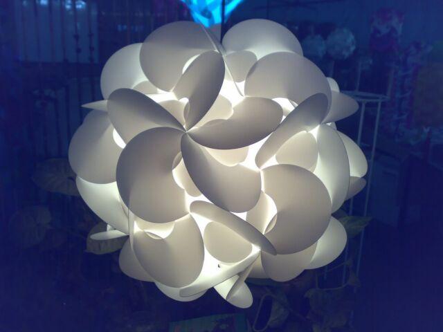 Flower IQ Light Ceiling Pendant Contemporary Modern Jigsaw Hanging Lamp Shades