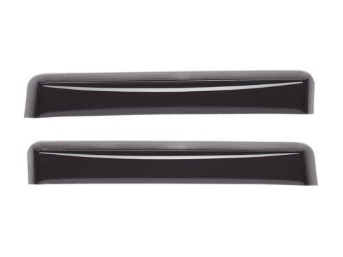 WeatherTech Side Window Deflectors for Hyundai Sonata Dark Tint 2011-2014