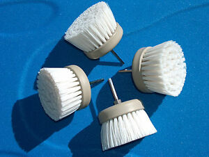 Details about REVOLVER DRILL BRUSH POWER SCRUBBER QUAD PACK--HOME &  BOAT-TILE & GROUT SAVE$$$