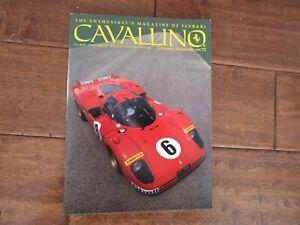 VINTAGE-CAVALLINO-FERRARI-MAGAZINE-NUMBER-72-December-1993-456-GT-Preview