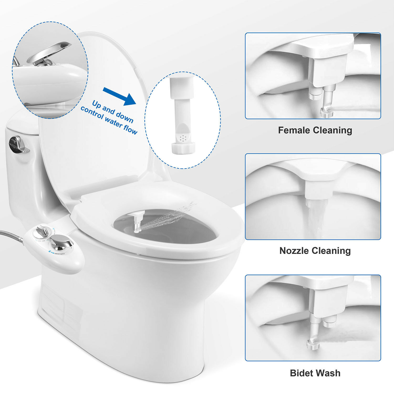 Prime Luxe Bidet Neo 120 Self Cleaning Nozzle Bidet Bidetneo120Sww Machost Co Dining Chair Design Ideas Machostcouk