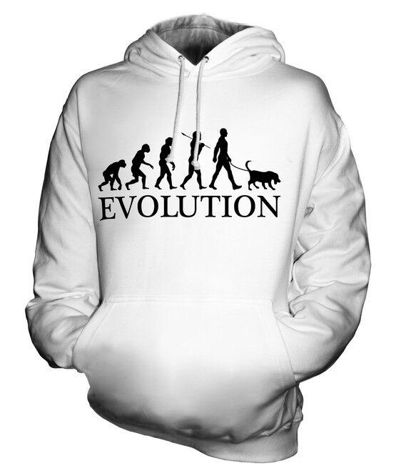 CHESAPEAKE BAY RETRIEVER EVOLUTION OF MAN UNISEX HOODIE  Herren Damenschuhe LADIES DOG