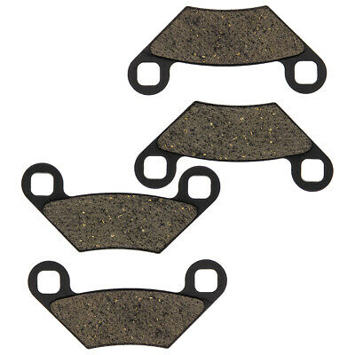 NICHE Brake Pad Set Polaris 2203628 2204088 2205606 Front Rear Organic Scrambler