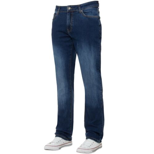 Mens Basic Stretch Skinny Slim Fit Jeans Denim Pants All Waist Sizes 28-40/'/'