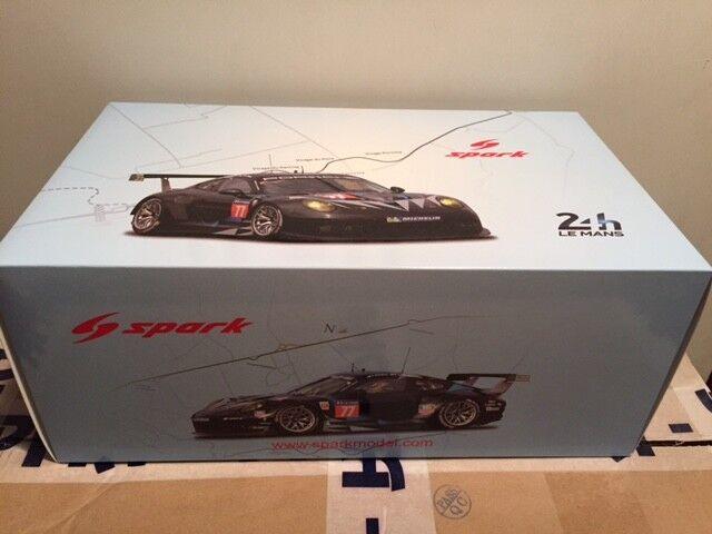 Porsche 911 991 RSR Le Mans 2014 Dempsey Spark 1 18