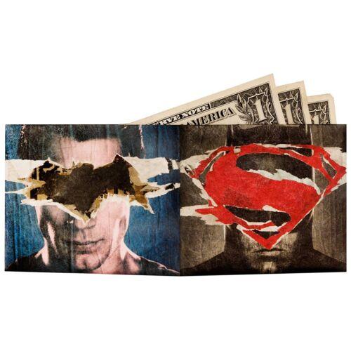 PORTAFOGLI SUPERSLIM BATMAN VS SUPERMAN BIFOLD WALLET SUPERESISTENTE BRAND NEW