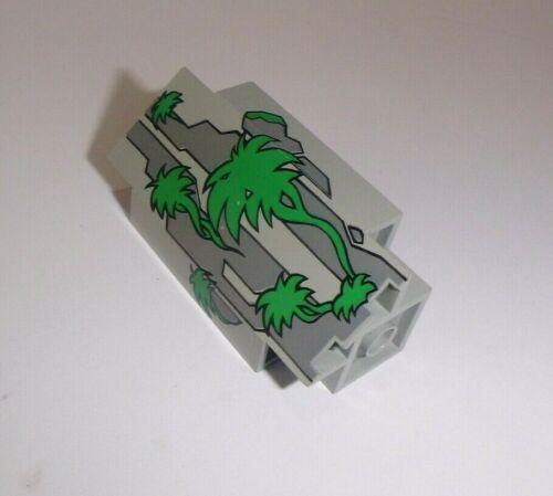 2345pb01 in alt hellgrau aus 6278 6292 1788 Lego bedruckt Eckpaneel 3x3x6