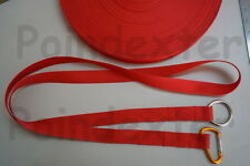 Kayak / Canoe, Astral Web Type Tow Line, Red, Tow Tether With O-Ring, 6 Foot