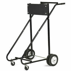315-LBS-Outboard-Boat-Motor-Stand-Carrier-Cart-Dolly-Storage-Pro-Heavy-Duty-New