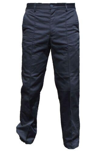 New Men/'s Lightweight Black Uniform Trousers Security Prison Officer Y3N