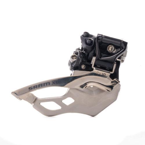 SRAM X0 Front Derailleur 2x10 Hi Clamp 31.8 Top Pull