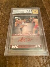 2009 Topps UFC Georges St. Pierre Round 1 Red Autograph