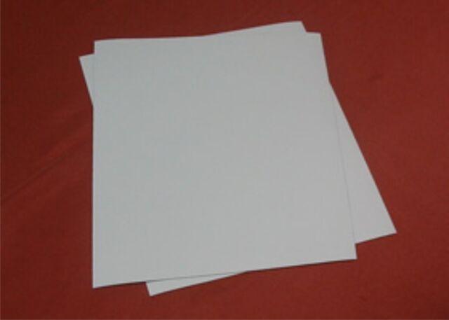 Strong Whiteboard Magnet A4 Sheets x 2 white sheet  better readability Premium