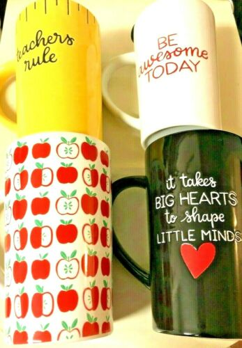 Details about  / NEW Teacher/'s Ceramic Coffee Mug-Travel Mug With Lid **Select Style**