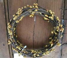 Primitive Pip Berry Garland ~ 18 ft single ply roping ~ Old Gold